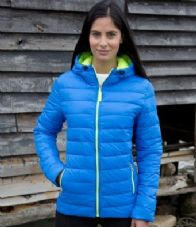 Ladies Urban Snow Bird Hooded Jacket